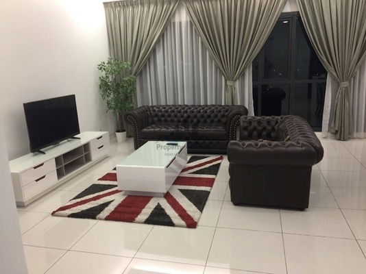 Condominium For Rent in BayBerry Serviced Residence @ Tropicana Gardens, Kota Damansara Freehold Fully Furnished 3R/4B 5.5k