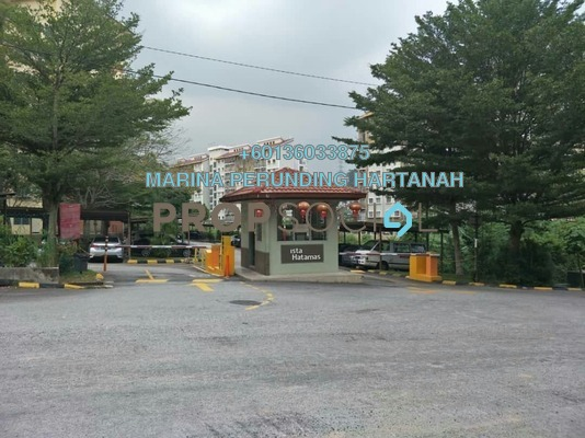 Apartment For Sale in Vista Hatamas, Cheras Freehold Unfurnished 3R/2B 310k