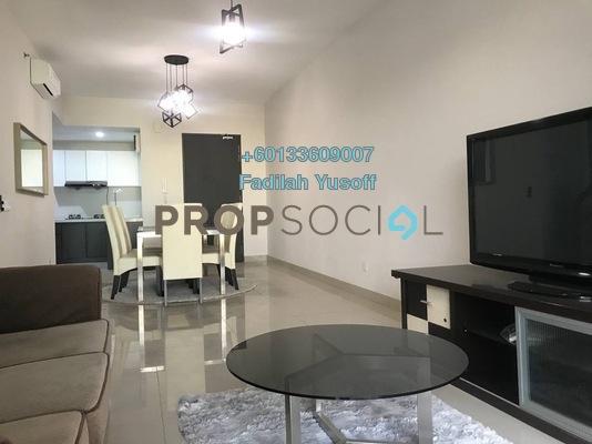 Condominium For Rent in Univ 360 Place, Seri Kembangan Freehold Fully Furnished 2R/2B 1.6k