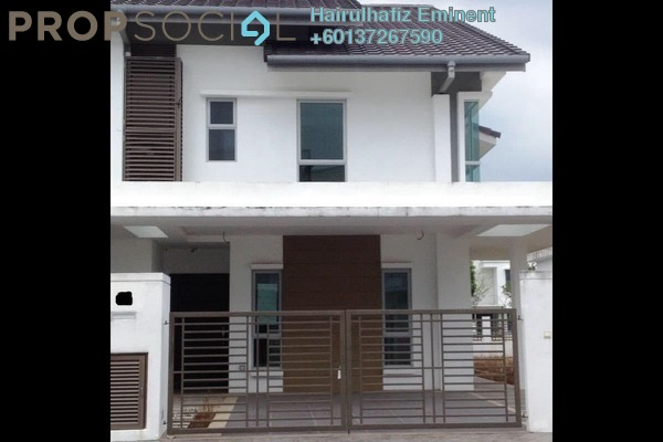 Terrace For Sale in Serissa Terrace, Denai Alam Freehold Unfurnished 4R/4B 1.4m