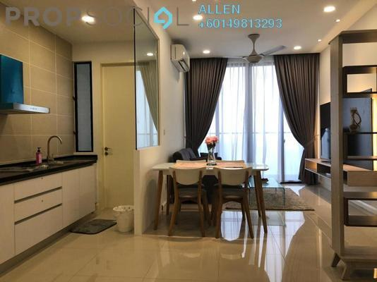 Condominium For Rent in D'Pristine, Medini Freehold Fully Furnished 2R/2B 1.5k