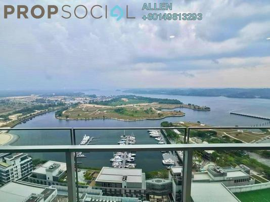 Condominium For Rent in Imperia, Puteri Harbour Freehold Fully Furnished 3R/4B 5.2k