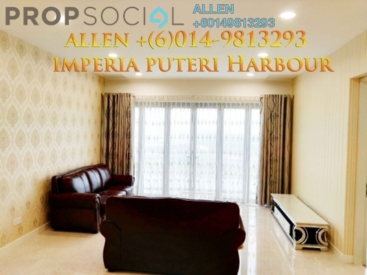 Condominium For Rent in Imperia, Puteri Harbour Freehold Fully Furnished 2R/2B 3.8k