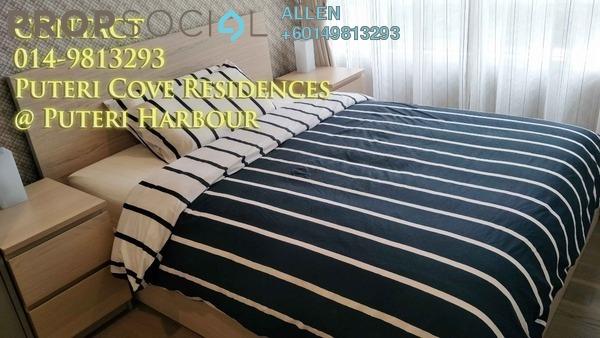 Condominium For Rent in Puteri Cove Residences & Quayside, Iskandar Puteri (Nusajaya) Freehold Fully Furnished 1R/1B 2k