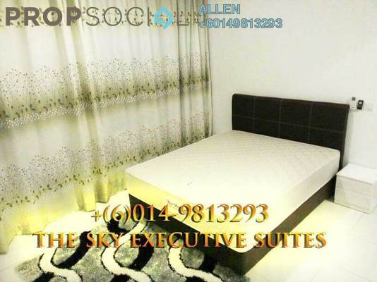 Condominium For Rent in The Sky Executive Suites, Bukit Indah Freehold Fully Furnished 2R/1B 1.5k