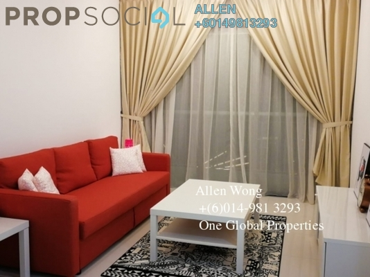 Serviced Residence For Rent in Teega, Puteri Harbour Freehold Semi Furnished 0R/1B 1.2k