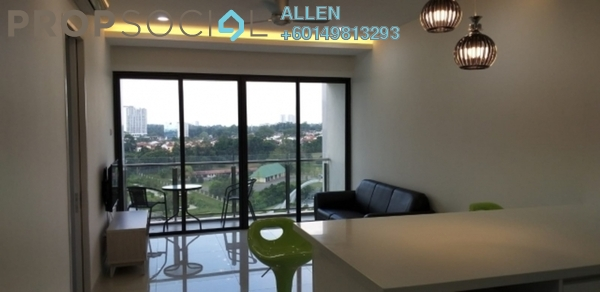 Condominium For Rent in Bora Residences, Danga Bay Freehold Fully Furnished 1R/1B 1.5k