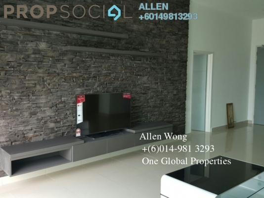 Condominium For Rent in Tropez Residences, Danga Bay Freehold Fully Furnished 3R/3B 3.2k