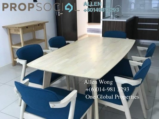 Condominium For Rent in Setia Sky 88, Johor Bahru Freehold Fully Furnished 2R/1B 2k