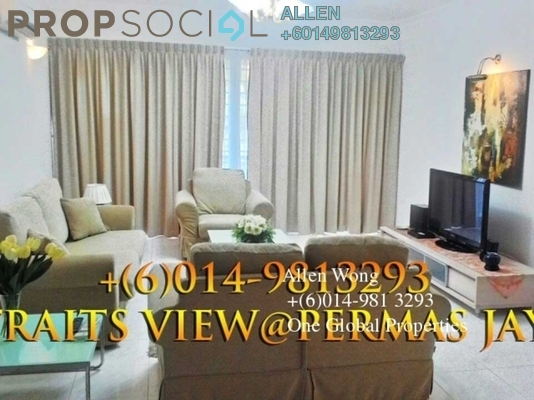 Condominium For Rent in Straits View Condominium, Bandar Baru Permas Jaya Freehold Fully Furnished 3R/3B 2.8k