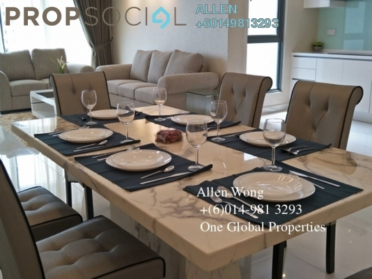 Serviced Residence For Rent in Teega, Puteri Harbour Freehold Fully Furnished 4R/3B 4.5k