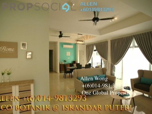 Link For Rent in Eco Botanic, Skudai Freehold Fully Furnished 4R/5B 3.9k