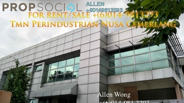 Factory For Sale in Nusajaya Tech Park, Iskandar Puteri (Nusajaya) Freehold Semi Furnished 0R/0B 3.36m