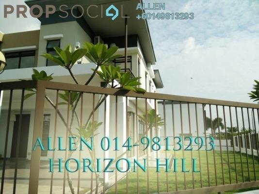Terrace For Rent in Taman Bukit Indah, Bukit Indah Freehold Fully Furnished 4R/5B 3.6k