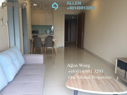 Serviced Residence For Rent in Imperia, Puteri Harbour Freehold Fully Furnished 1R/1B 1.7k