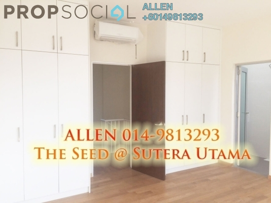 Townhouse For Rent in The Seed @ Sutera Utama, Skudai Freehold Fully Furnished 3R/3B 1.7k
