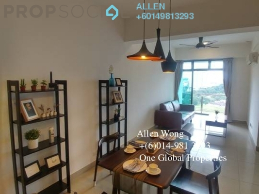 Condominium For Rent in Taman Bukit Indah, Bukit Indah Freehold Fully Furnished 3R/2B 1.8k