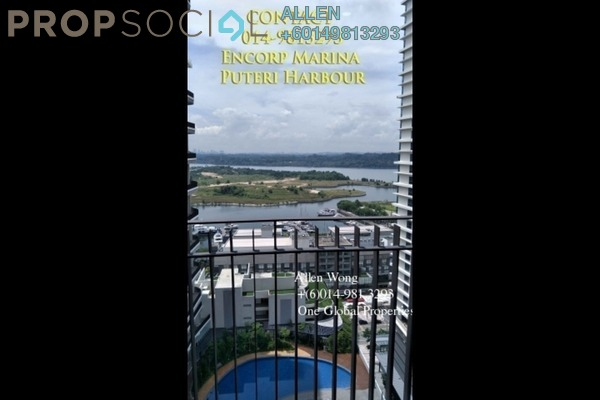 Condominium For Rent in Teega, Puteri Harbour Freehold Fully Furnished 2R/2B 2.8k