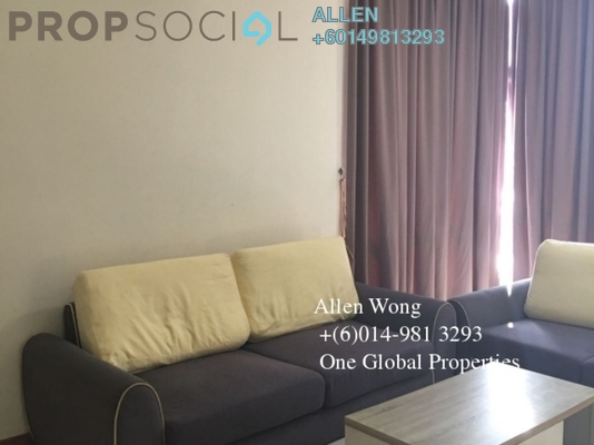 Condominium For Rent in The Seed @ Sutera Utama, Skudai Freehold Fully Furnished 3R/3B 2k
