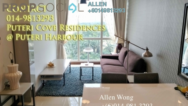 Condominium For Rent in Imperia, Puteri Harbour Freehold Fully Furnished 1R/1B 2.8k