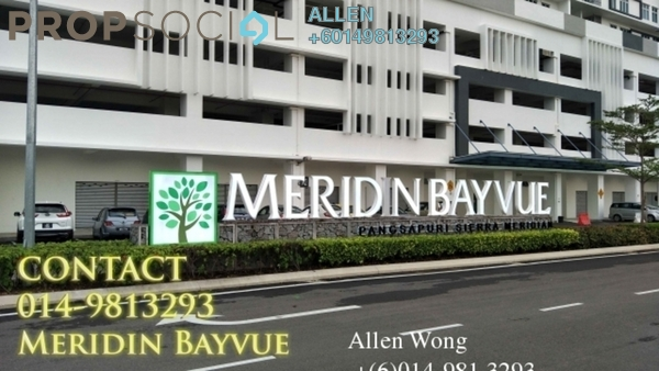 Condominium For Rent in Meridin Bayvue , Masai Freehold Fully Furnished 3R/2B 1.5k