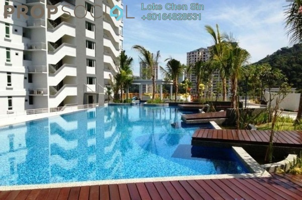 Condominium For Sale in Island Resort, Batu Ferringhi Freehold Unfurnished 3R/2B 780k
