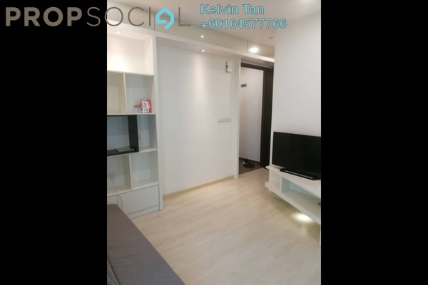 Apartment For Sale in Straits Garden, Jelutong Freehold Fully Furnished 1R/1B 410k