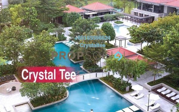 Condominium For Rent in Quayside, Seri Tanjung Pinang Freehold Fully Furnished 2R/2B 3.8k