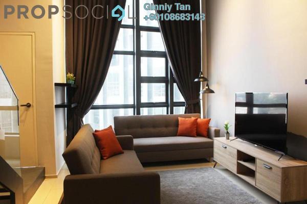 Duplex For Rent in EkoCheras, Cheras Freehold Fully Furnished 1R/2B 2.5k