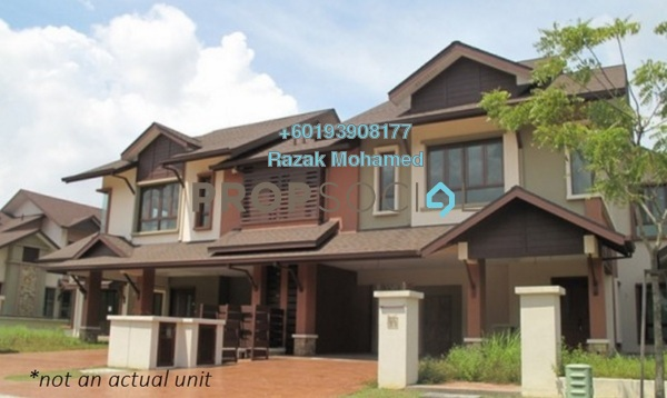 Semi-Detached For Sale in Lagenda 2, Bukit Jelutong Freehold Semi Furnished 4R/4B 1.3m