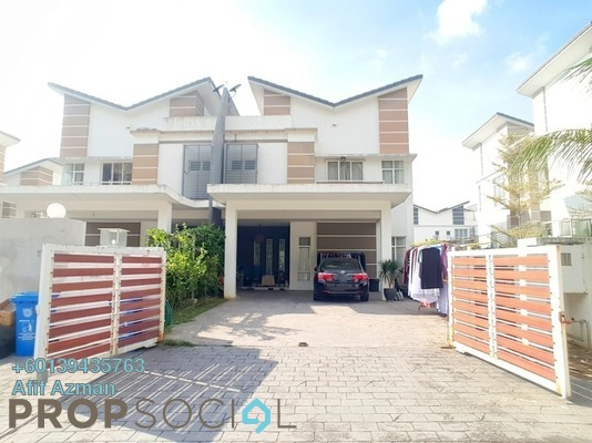 Semi-Detached For Sale in Greenhill Residence, Shah Alam Freehold Semi Furnished 6R/6B 880k