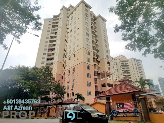 Apartment For Rent in Zamrud Apartment, Old Klang Road Freehold Fully Furnished 3R/2B 1.2k