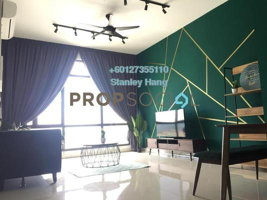 Condominium For Rent in The Park Sky Residence @ Bukit Jalil City, Bukit Jalil Freehold Fully Furnished 3R/2B 3.5k