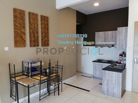 Condominium For Sale in Skypod, Bandar Puchong Jaya Freehold Semi Furnished 2R/2B 490k