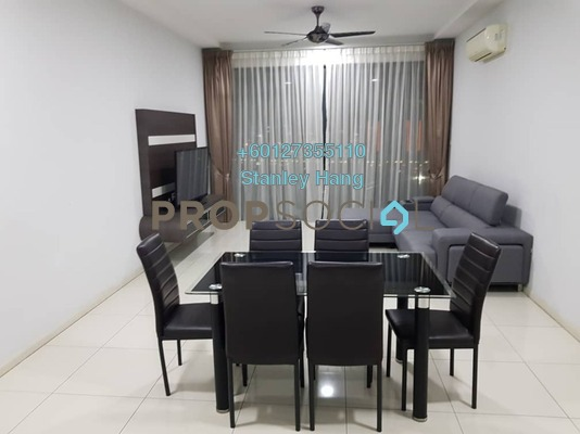 Condominium For Sale in LaCosta, Bandar Sunway Freehold Fully Furnished 3R/3B 1.1m