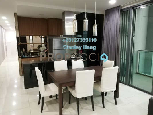 Condominium For Rent in The Treez, Bukit Jalil Freehold Fully Furnished 3R/4B 4k