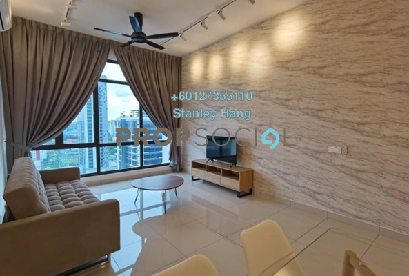 Condominium For Rent in The Park Sky Residence @ Bukit Jalil City, Bukit Jalil Freehold Fully Furnished 2R/2B 2.5k