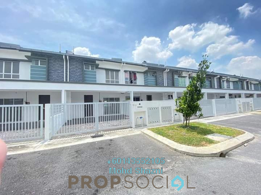 Terrace For Sale in The Palm, Hillpark Freehold Unfurnished 4R/3B 535k
