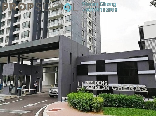 Condominium For Rent in 9INE, Batu 9 Cheras Freehold Fully Furnished 3R/2B 2.1k