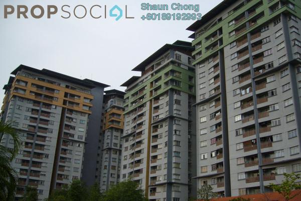 Condominium For Rent in Perdana Exclusive, Damansara Perdana Freehold Semi Furnished 2R/2B 1.2k