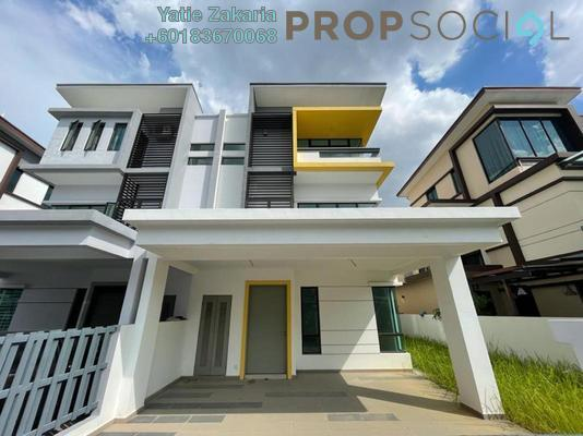 Semi-Detached For Sale in Montana, Setia Alam Freehold Unfurnished 4R/4B 1.3m
