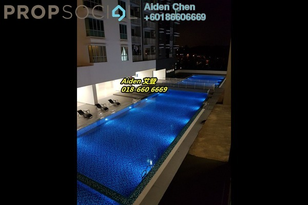 Condominium For Rent in The Aliff Residences, Johor Bahru Freehold Fully Furnished 1R/1B 1.2k