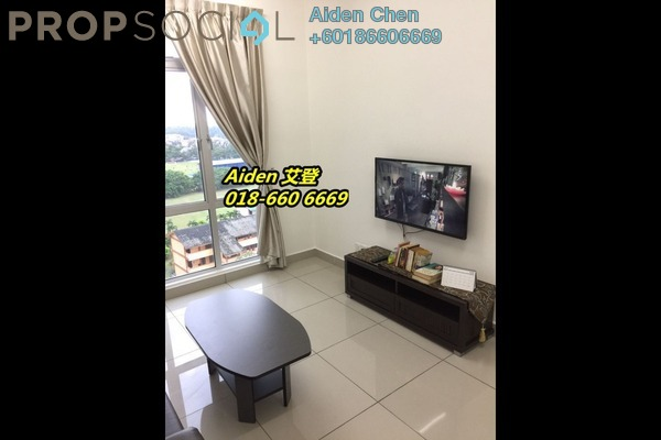 Condominium For Rent in D'Ambience, Johor Bahru Freehold Fully Furnished 1R/1B 1.1k