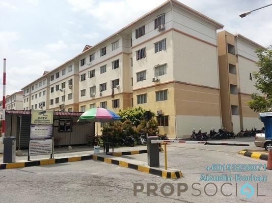 Apartment For Rent in Seri Saujana Apartment, Bandar Saujana Putra Freehold Semi Furnished 3R/2B 750translationmissing:en.pricing.unit