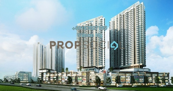 Condominium For Sale in The Link 2 @ Bukit Jalil, Bukit Jalil Freehold Unfurnished 2R/1B 550k