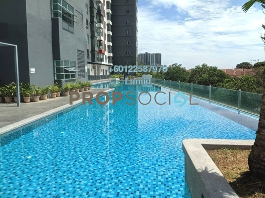 Duplex For Sale in Silk Sky, Balakong Freehold Unfurnished 6R/7B 875k