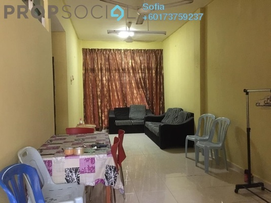 Apartment For Sale in Taman Dahlia, Bukit Beruang Freehold Unfurnished 3R/2B 350k