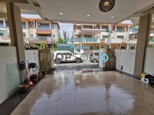 Terrace For Sale in Juru Heights, Juru Freehold Semi Furnished 5R/4B 550k