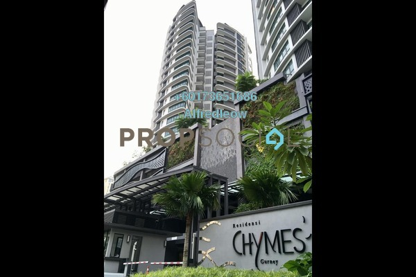 Condominium For Rent in Chymes @ Gurney, Keramat Freehold Unfurnished 2R/2B 1.5k