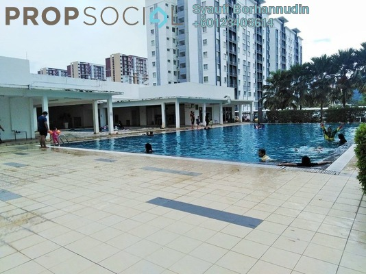 Apartment For Sale in Seri Intan Apartment, Setia Alam Freehold Unfurnished 3R/2B 300k